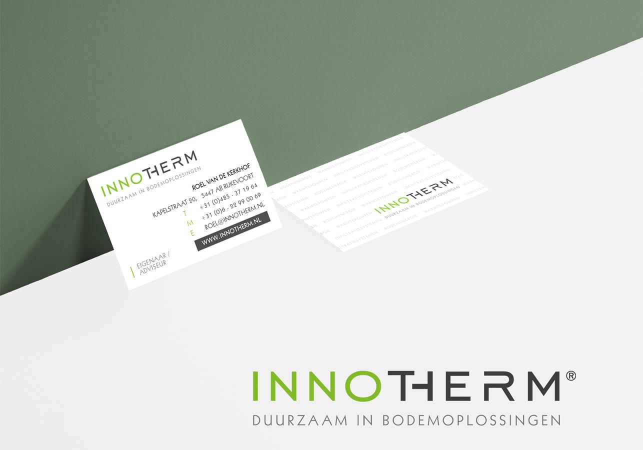 Innotherm logo & huisstijl vormgeving
