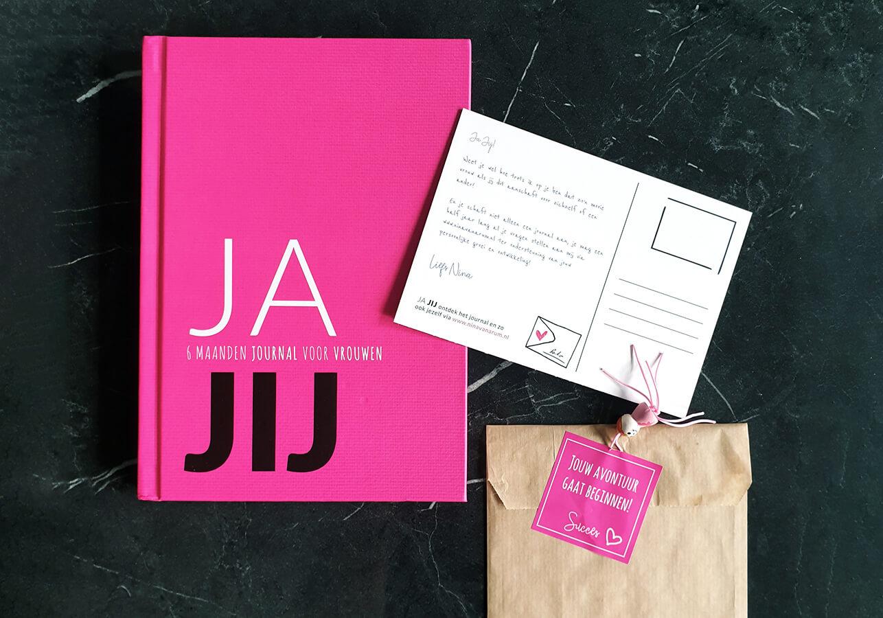 JA JIJ journal hardcover boek