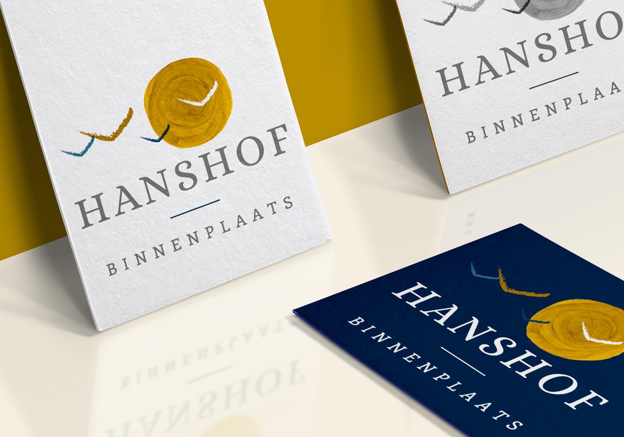 Logo vormgeving binnenplaats Hanshof